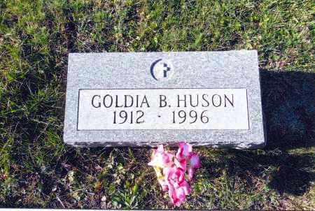 SWICK HUSON, GOLDIA B. - Gallia County, Ohio | GOLDIA B. SWICK HUSON - Ohio Gravestone Photos
