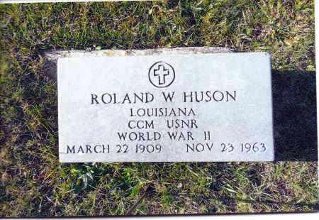 HUSON, ROLAND W. - Gallia County, Ohio | ROLAND W. HUSON - Ohio Gravestone Photos