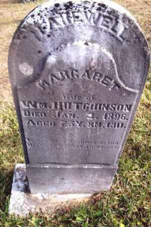 HUTCHINSON, MARGARET - Gallia County, Ohio | MARGARET HUTCHINSON - Ohio Gravestone Photos