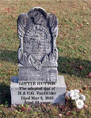 HUTTON, LOTTIE - Gallia County, Ohio | LOTTIE HUTTON - Ohio Gravestone Photos