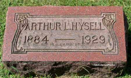 HYSELL, ARTHUR L - Gallia County, Ohio | ARTHUR L HYSELL - Ohio Gravestone Photos