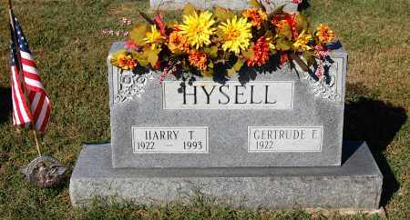 HYSELL, HARRY T. - Gallia County, Ohio | HARRY T. HYSELL - Ohio Gravestone Photos