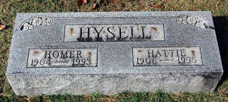 HYSELL, HOMER - Gallia County, Ohio | HOMER HYSELL - Ohio Gravestone Photos