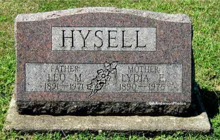 HYSELL, LYDIA E - Gallia County, Ohio | LYDIA E HYSELL - Ohio Gravestone Photos