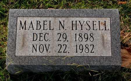 HYSELL, MABEL N. - Gallia County, Ohio | MABEL N. HYSELL - Ohio Gravestone Photos
