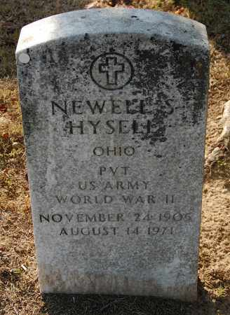 HYSELL, NEWELL S. - Gallia County, Ohio | NEWELL S. HYSELL - Ohio Gravestone Photos