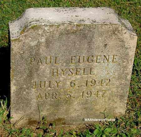 HYSELL, PAUL EUGENE - Gallia County, Ohio | PAUL EUGENE HYSELL - Ohio Gravestone Photos