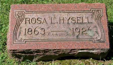 HYSELL, ROSA L - Gallia County, Ohio | ROSA L HYSELL - Ohio Gravestone Photos