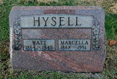 HYSELL, WATT - Gallia County, Ohio | WATT HYSELL - Ohio Gravestone Photos