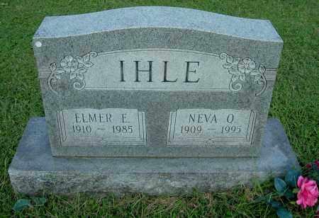 IHLE, ELMER E - Gallia County, Ohio | ELMER E IHLE - Ohio Gravestone Photos