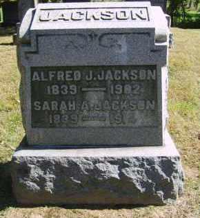 JACKSON, ALFRED - Gallia County, Ohio | ALFRED JACKSON - Ohio Gravestone Photos