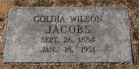JACOBS, GOLDIA DALENA - Gallia County, Ohio | GOLDIA DALENA JACOBS - Ohio Gravestone Photos