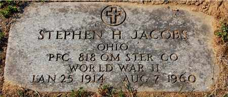 JACOBS, STEPHEN H - Gallia County, Ohio | STEPHEN H JACOBS - Ohio Gravestone Photos
