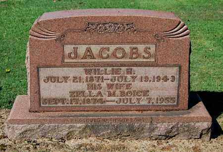 BOICE JACOBS, ZELLA M - Gallia County, Ohio | ZELLA M BOICE JACOBS - Ohio Gravestone Photos