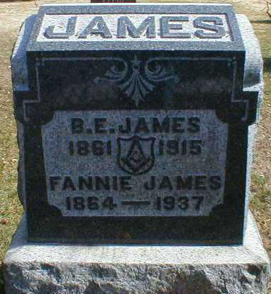 JAMES, BENJAMIN - Gallia County, Ohio | BENJAMIN JAMES - Ohio Gravestone Photos