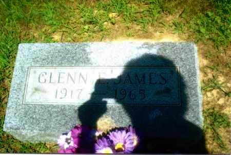 JAMES, GLENN ELLSWORTH - Gallia County, Ohio | GLENN ELLSWORTH JAMES - Ohio Gravestone Photos