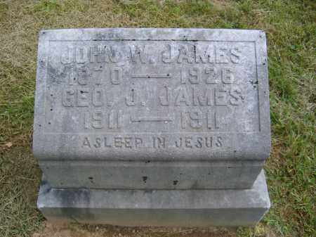 JAMES, GEORGE - Gallia County, Ohio | GEORGE JAMES - Ohio Gravestone Photos