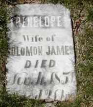 JAMES, PENELOPE - Gallia County, Ohio | PENELOPE JAMES - Ohio Gravestone Photos