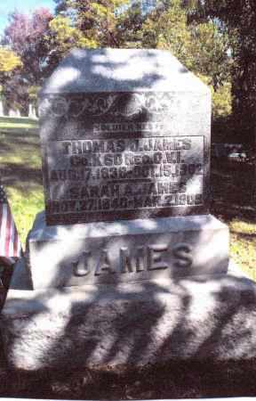 JAMES, THOMAS J. - Gallia County, Ohio | THOMAS J. JAMES - Ohio Gravestone Photos