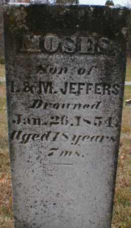 JEFFERS, MOSES - Gallia County, Ohio | MOSES JEFFERS - Ohio Gravestone Photos