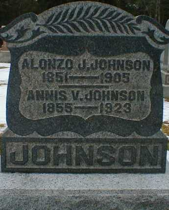 JOHNSON, ANNIS - Gallia County, Ohio | ANNIS JOHNSON - Ohio Gravestone Photos