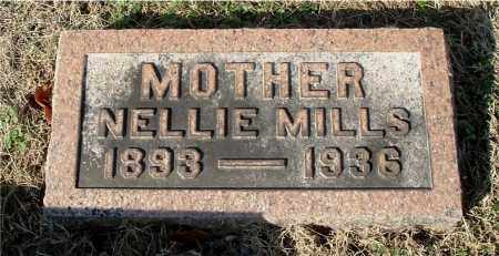 MILLS JOHNSON, NELLIE - Gallia County, Ohio | NELLIE MILLS JOHNSON - Ohio Gravestone Photos