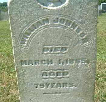 JOHNSON, WILLIAM - Gallia County, Ohio | WILLIAM JOHNSON - Ohio Gravestone Photos