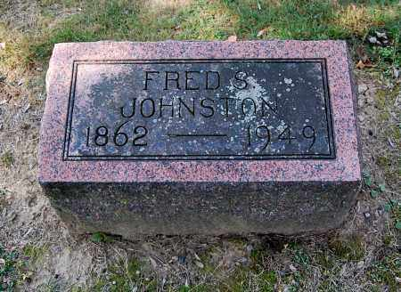 JOHNSTON, FRED S - Gallia County, Ohio | FRED S JOHNSTON - Ohio Gravestone Photos