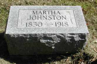 JOHNSTON, MARTHA - Gallia County, Ohio | MARTHA JOHNSTON - Ohio Gravestone Photos