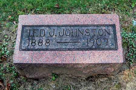 JOHNSTON, TED J - Gallia County, Ohio | TED J JOHNSTON - Ohio Gravestone Photos