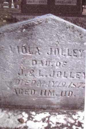 JOLLEY, VIOLA - Gallia County, Ohio | VIOLA JOLLEY - Ohio Gravestone Photos