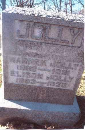 JOLLY, WARREN - Gallia County, Ohio | WARREN JOLLY - Ohio Gravestone Photos