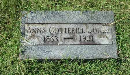JONES, ANNA - Gallia County, Ohio | ANNA JONES - Ohio Gravestone Photos
