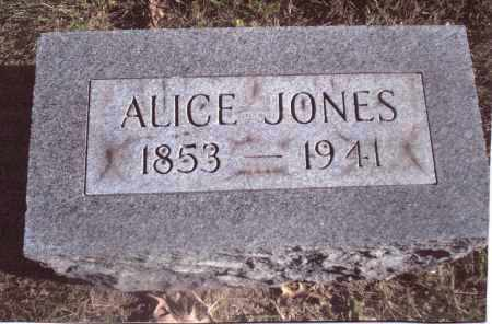 JONES, ALICE - Gallia County, Ohio | ALICE JONES - Ohio Gravestone Photos