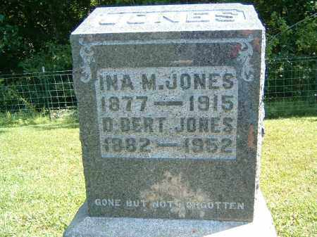 JONES, D BERT - Gallia County, Ohio | D BERT JONES - Ohio Gravestone Photos