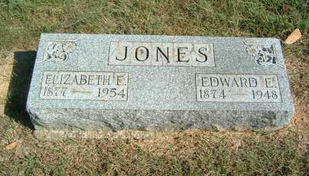 JONES, ELIZABETH E - Gallia County, Ohio | ELIZABETH E JONES - Ohio Gravestone Photos