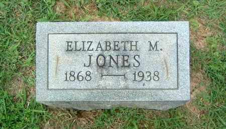 JONES, ELIZABETH M. - Gallia County, Ohio | ELIZABETH M. JONES - Ohio Gravestone Photos