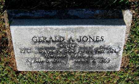 JONES, GERALD A - Gallia County, Ohio | GERALD A JONES - Ohio Gravestone Photos