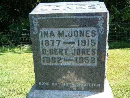 JONES, INA M. - Gallia County, Ohio | INA M. JONES - Ohio Gravestone Photos