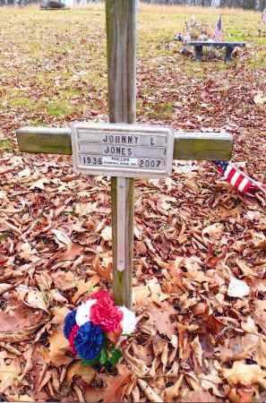 JONES, JOHNNY L. - Gallia County, Ohio   JOHNNY L. JONES - Ohio Gravestone Photos