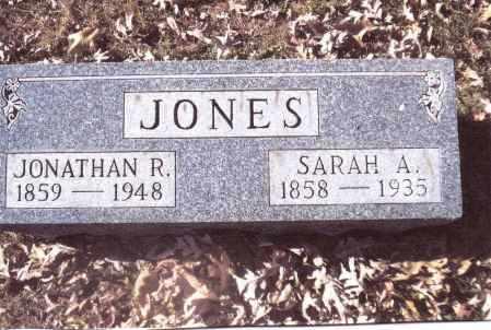 JONES, JONATHAN R. - Gallia County, Ohio | JONATHAN R. JONES - Ohio Gravestone Photos