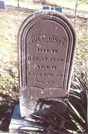 JONES, LEVI C. - Gallia County, Ohio | LEVI C. JONES - Ohio Gravestone Photos