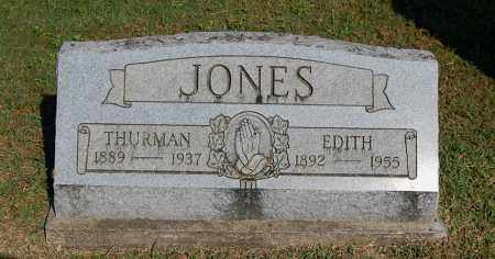FRASIER JONES, EDITH - Gallia County, Ohio | EDITH FRASIER JONES - Ohio Gravestone Photos