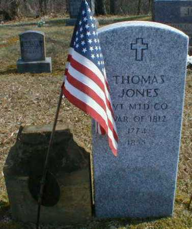 JONES, THOMAS - Gallia County, Ohio | THOMAS JONES - Ohio Gravestone Photos