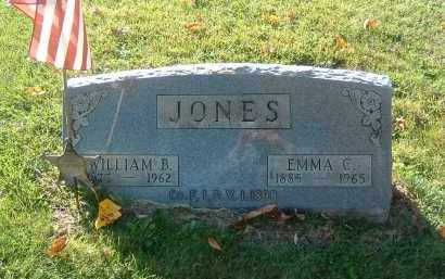 JONES, WILLIAM B. - Gallia County, Ohio | WILLIAM B. JONES - Ohio Gravestone Photos