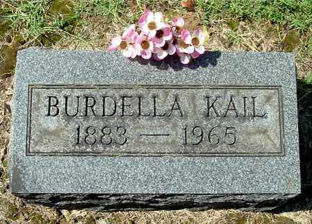 KAIL, BURDELLA - Gallia County, Ohio | BURDELLA KAIL - Ohio Gravestone Photos