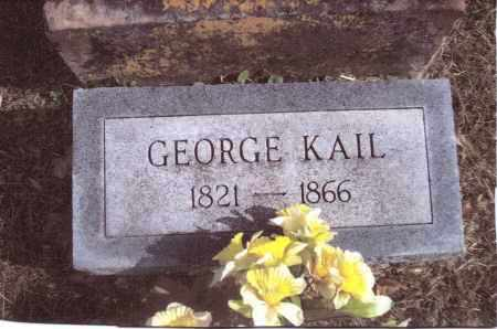 KAIL, GEORGE - Gallia County, Ohio | GEORGE KAIL - Ohio Gravestone Photos