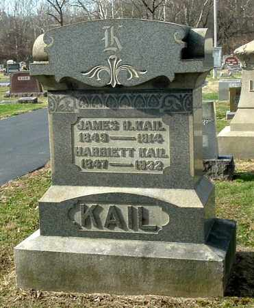 KAIL, JAMES H - Gallia County, Ohio | JAMES H KAIL - Ohio Gravestone Photos