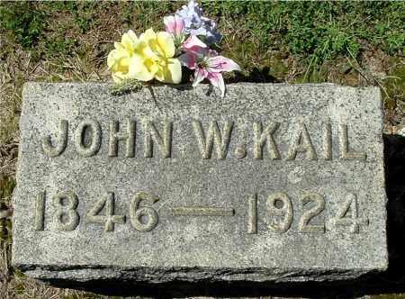 KAIL, JOHN WILSON - Gallia County, Ohio | JOHN WILSON KAIL - Ohio Gravestone Photos