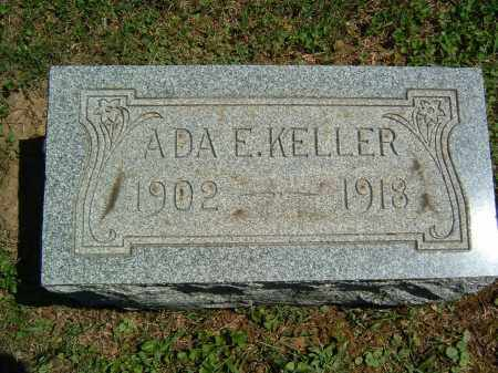 KELLER, ADA E. - Gallia County, Ohio | ADA E. KELLER - Ohio Gravestone Photos